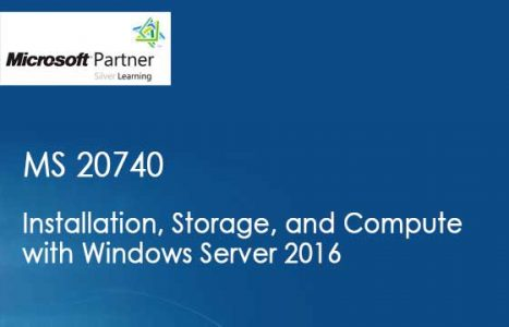 Curso de MS 20740 - Installation, Storage, and Compute with Windows Server 2016 em Maringa