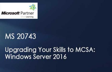 Curso de MS 20743 - Upgrading Your Skills to MCSA: Windows Server 2016 em Maringa